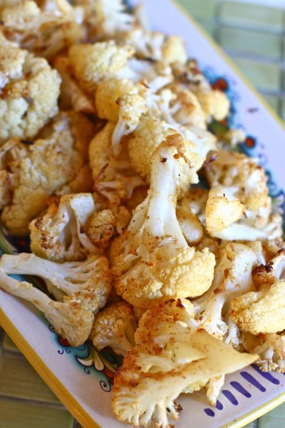 roasted cauliflower, tanyafoster.com