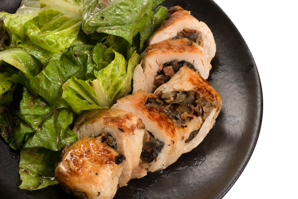 Ideal protein recipes, mushroom stuffed chicken, tanyafoster.com