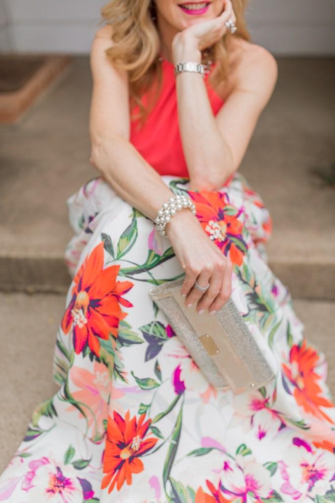 Eliza J top and skirt, Dillard's, tanya foster, tanyafoster.com