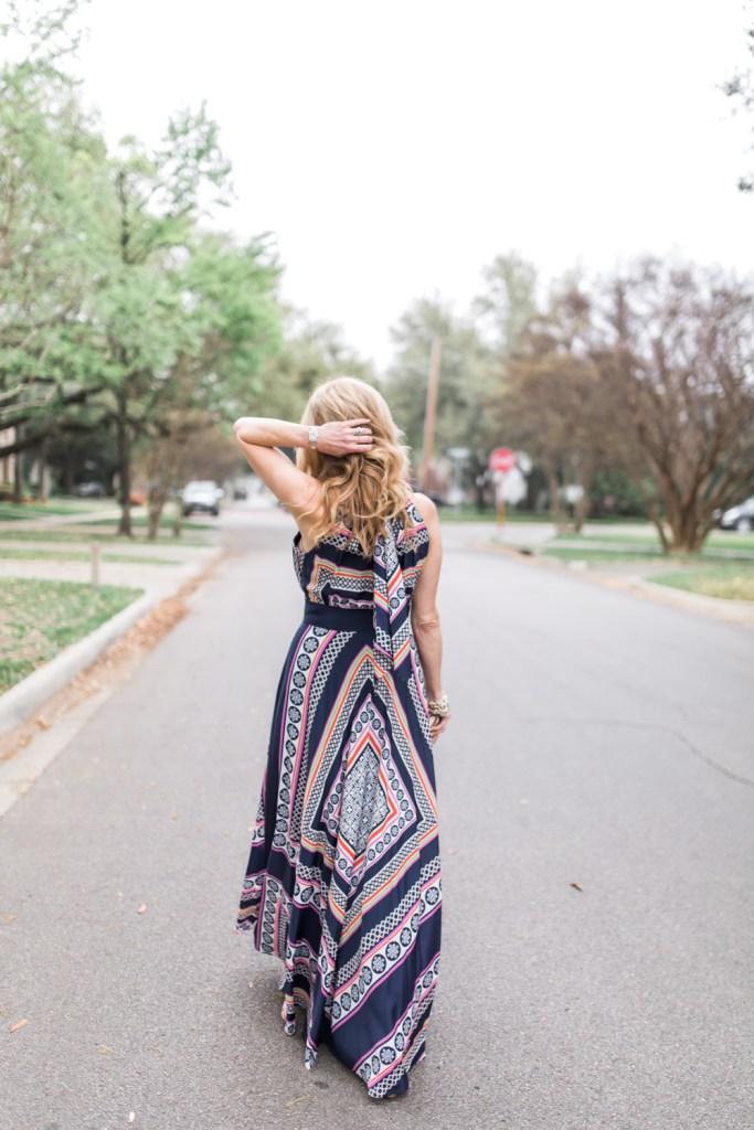 Eliza J maxi dress, Tanya Foster, tanyafoster.com