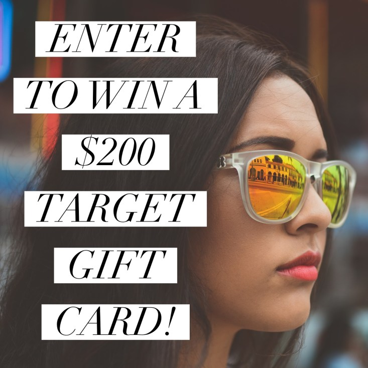 Target giveaway, tanyafoster.com