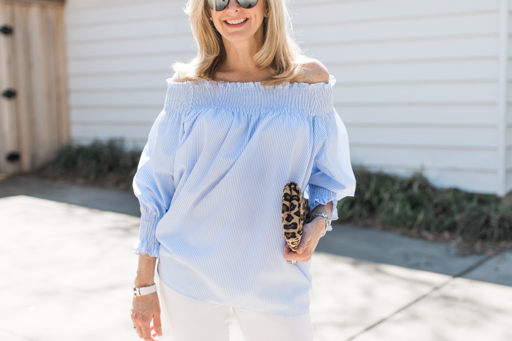 trending: off the shoulder