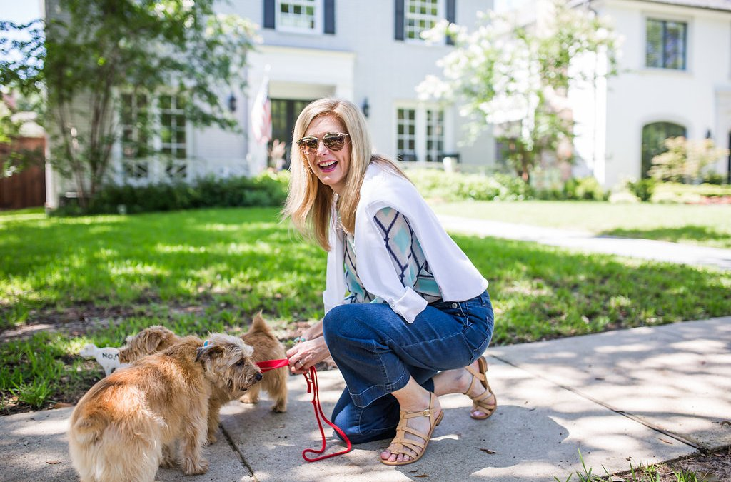 It's a dogs life | Talbots Summer Casual Style