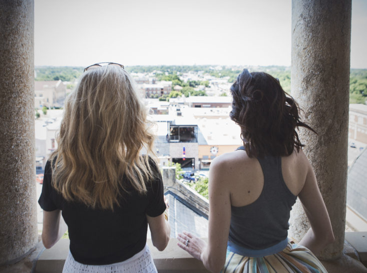 Denton, Texas, travel, Sarah Adams, Tanya Foster, University of North Texas