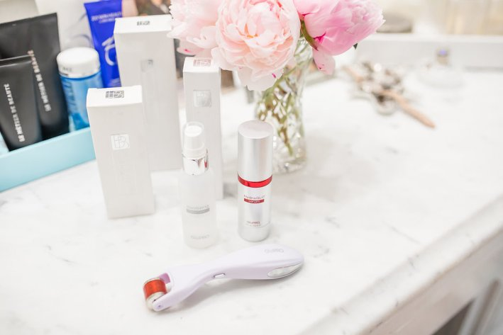 GloPRO® MicroStimulation Facial Tool & HydraGLO™ Serum, Neiman Marcus, skincare, TanyaFoster.com, review