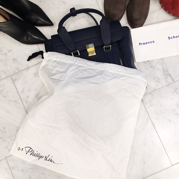 Avenue 32, NYFW packing list, Tumi, how to pack, TanyaFoster.com, Phillip Lim bag