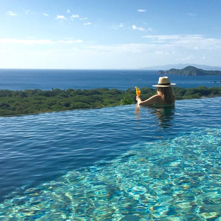 Costa Rica, Infinity pool, Tanya Foster, LuxeBae, luxury travel