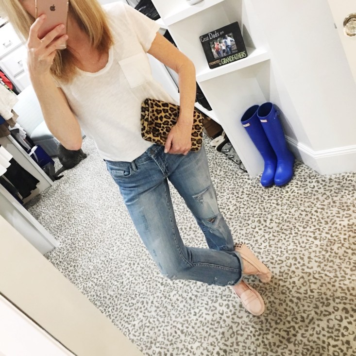 Instagram roundup, Tanya Foster, State Fair of Texas, corny dog, Dallas Lifestyle blogger, boyfriend jeans, casual style