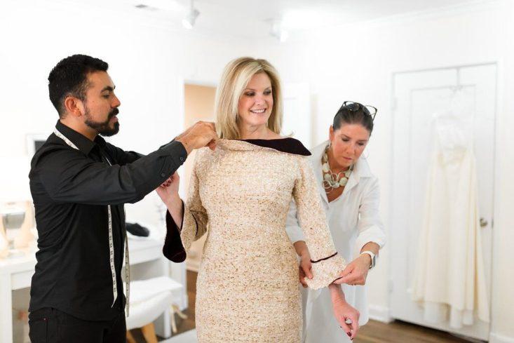 Patti Flowers Design Studio, Tanya Foster, Patti Flowers, customs designed gowns, Dallas, bridal designs, Couture, design studio