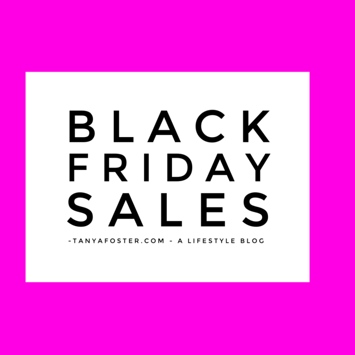 Black Friday Sales 2016 on TanyaFoster.com