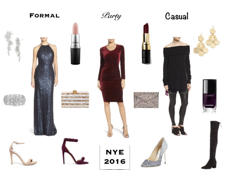 New Years Eve options on TanyaFoster.com including formal, party and casual looks.