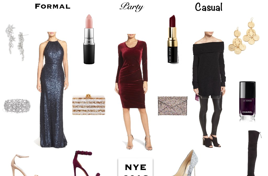 What to wear for New Year's Eve 2016