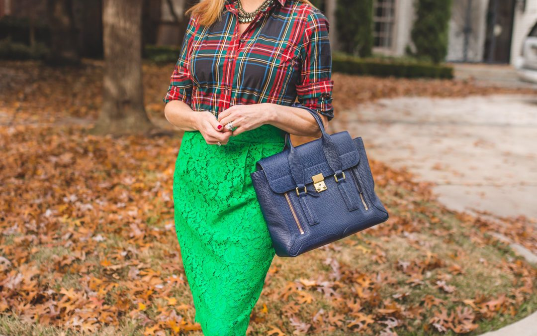 Mixing bright colors with pattern and giveaway #3