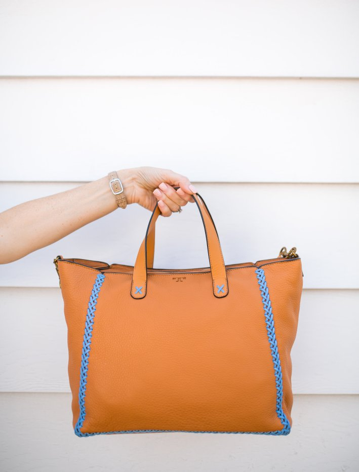 Casual travel style with Nordstrom accessories on TanyaFoster.com