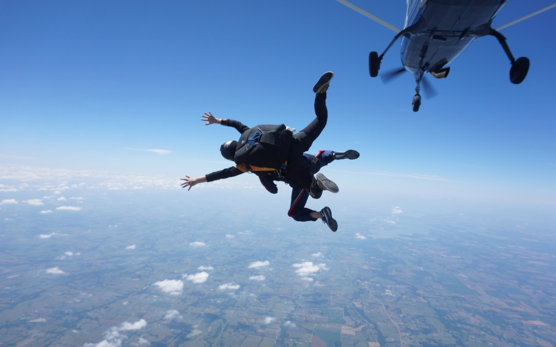 How I survived my first skydive