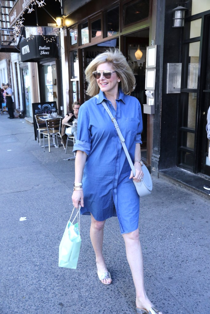 A shirtdress is an important staple in your wardrobe.