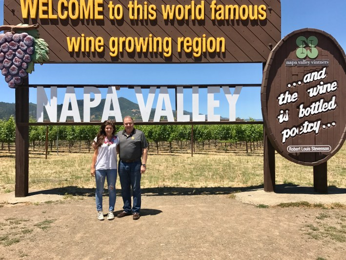 Explore the Napa, California wine region on TanyaFoster.com