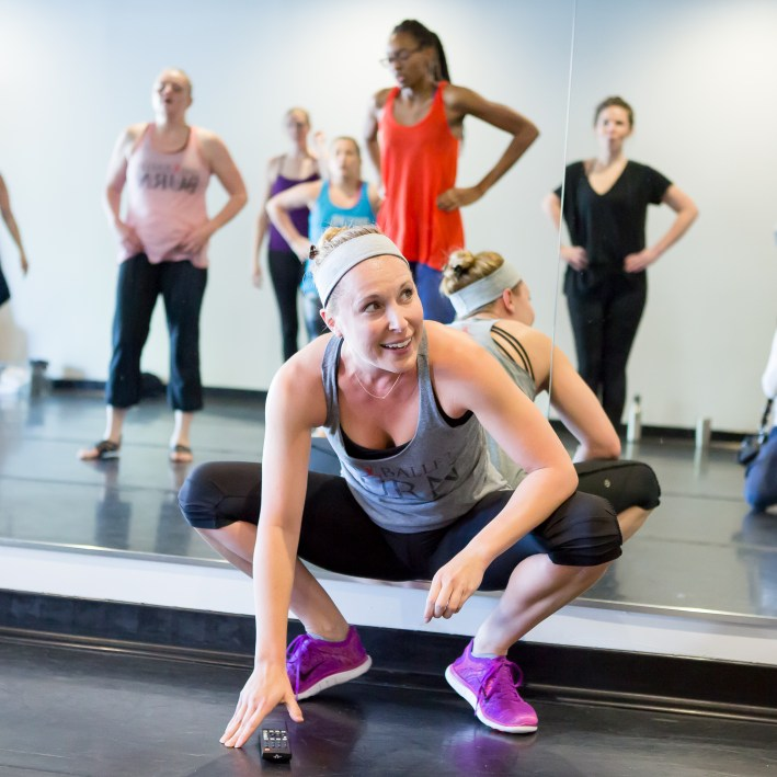 Trying ballet burn as a new workout regime
