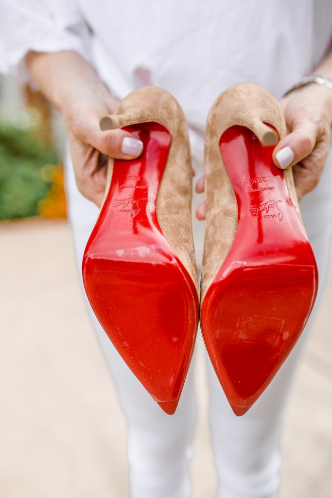 How to wear and protect your Christian Louboutin shoes.