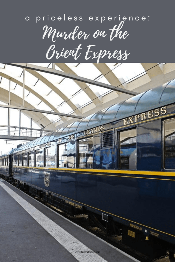 a priceless experience: murder on the orient express