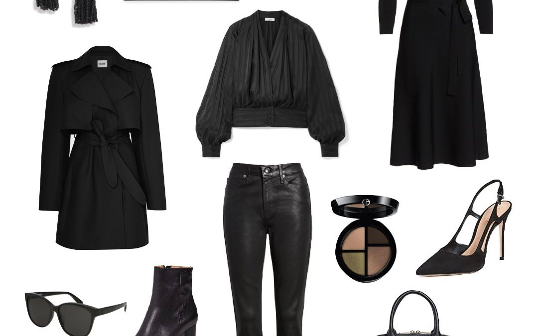 All Black Fall Fashion Feature