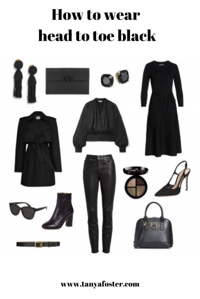 All-Black Look | Fall Fashion | All Black Fall Fashion Feature