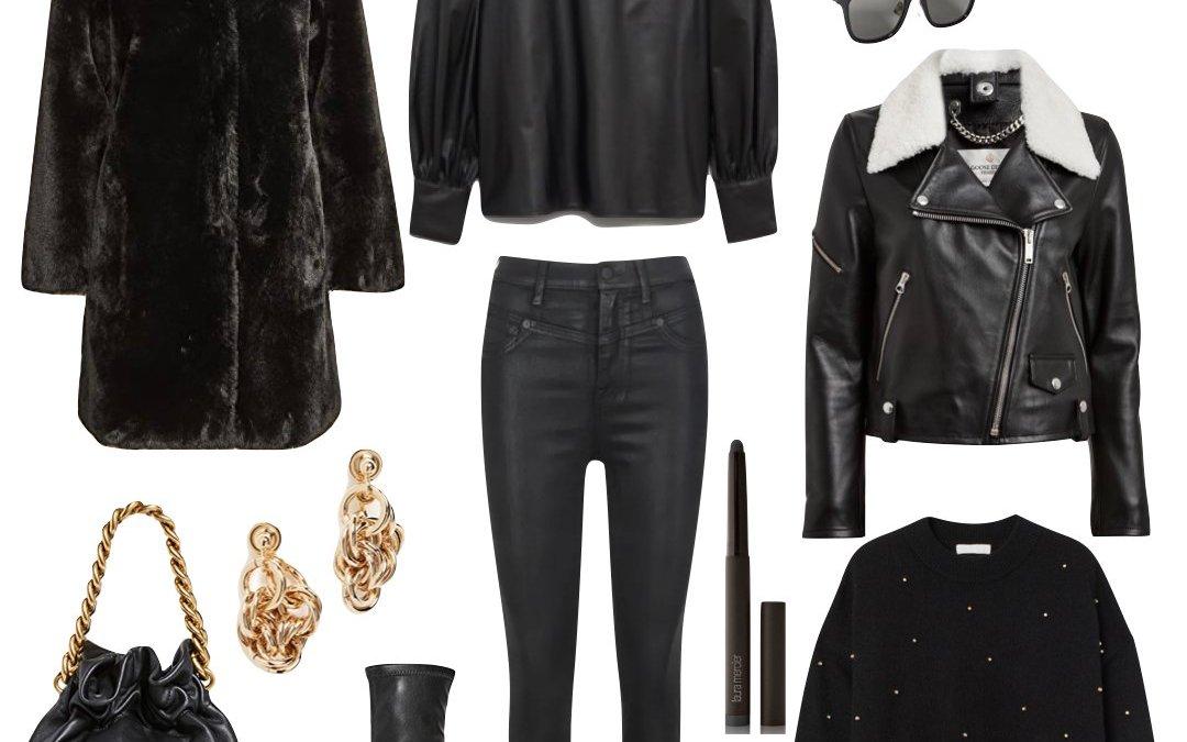 All Black Winter Looks