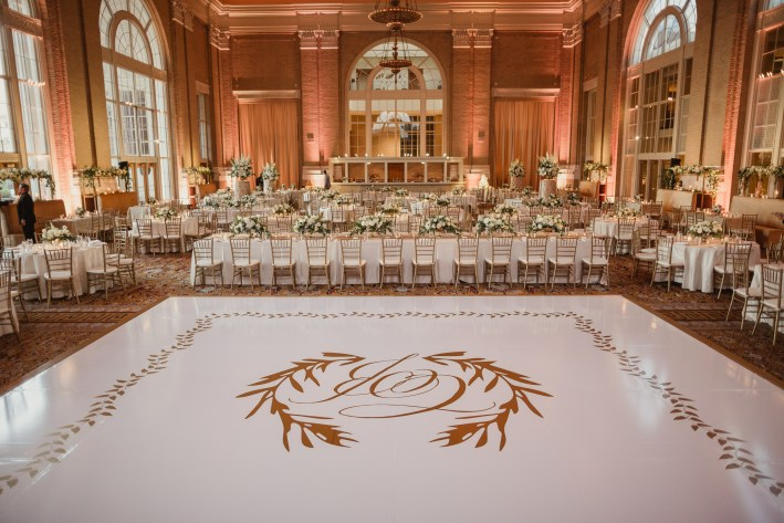 An important element of a wedding reception is luxury rentals with Lawson Event Rentals