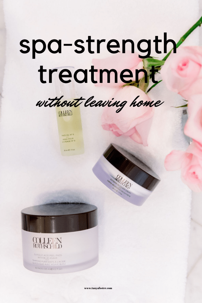 spa-treatment without leaving home
