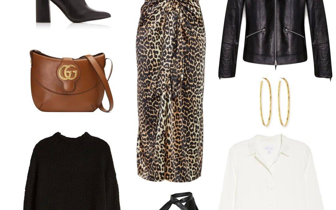 Fall Trend Alert | Leopard Print Midi Skirt