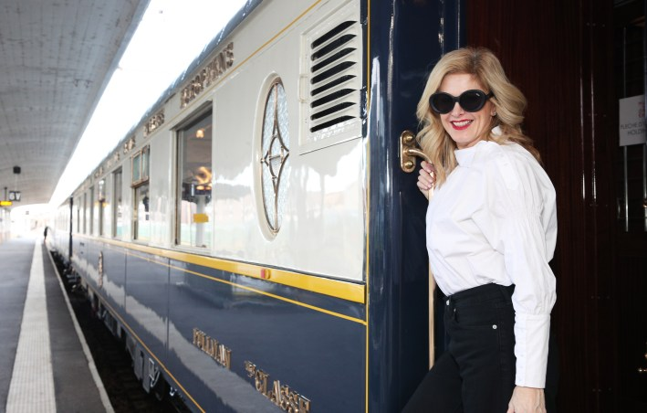 Experiencing the original Orient Express train from the 1930's in Paris to celebrate the Murder on the Orient Express digital film release