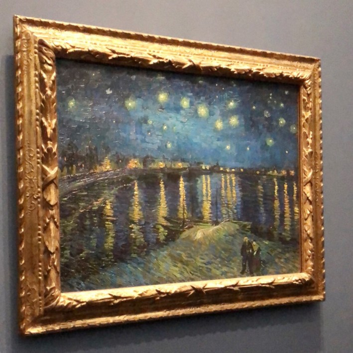 Starry Night in the Musee d'Orsay
