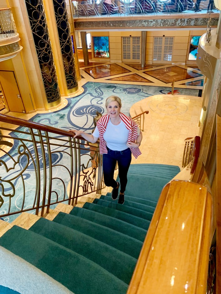 Top 10 Reasons to Book a Disney Cruise to Alaska featured by top US travel blogger, Tanya Foster: image of Tanya Foster on the Disney Wonder