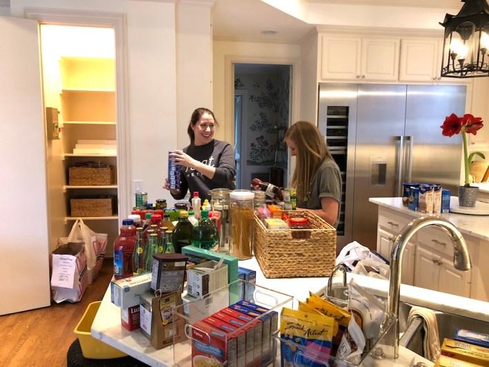 NEAT Method organizes Tanya Foster's pantry