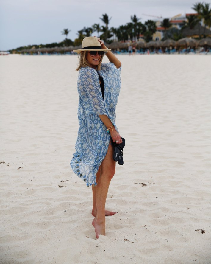 What I wore on my beach vacation to Aruba