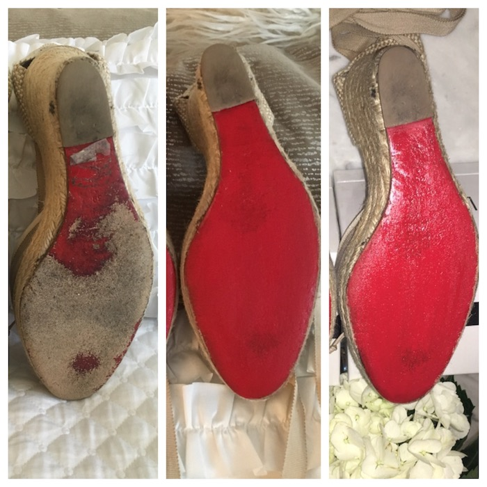 Restore your Christian Louboutin shoes in 3 easy steps