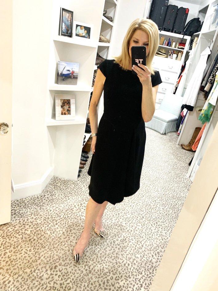 Black dress from Harper Rose