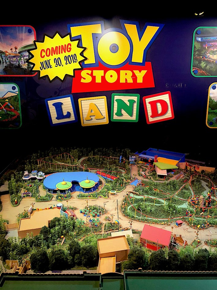 Toy Story Land will open June 30, 2018 in Hollywood Studio