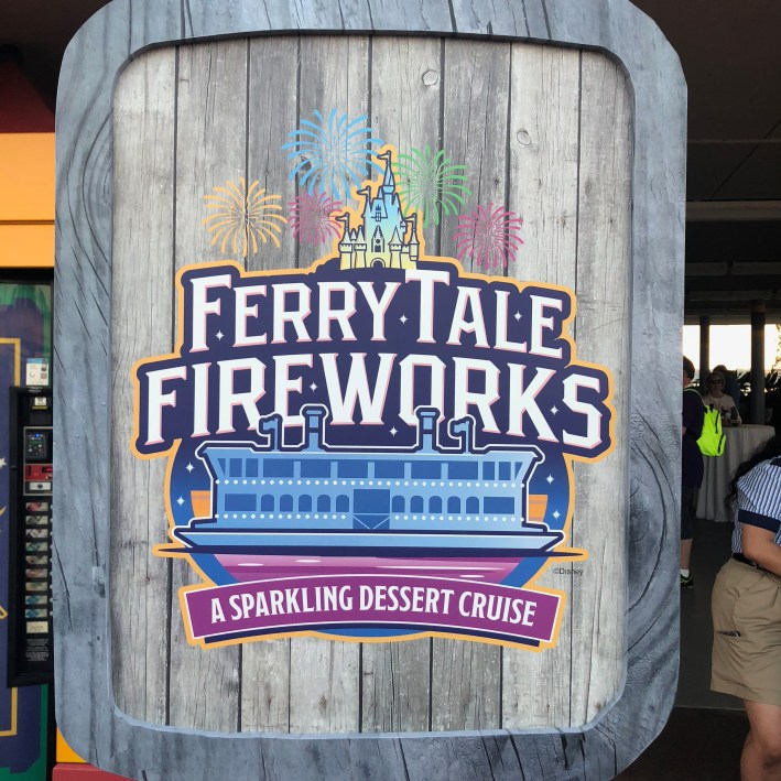 Ferrytale Fireworks at Walt Disney World