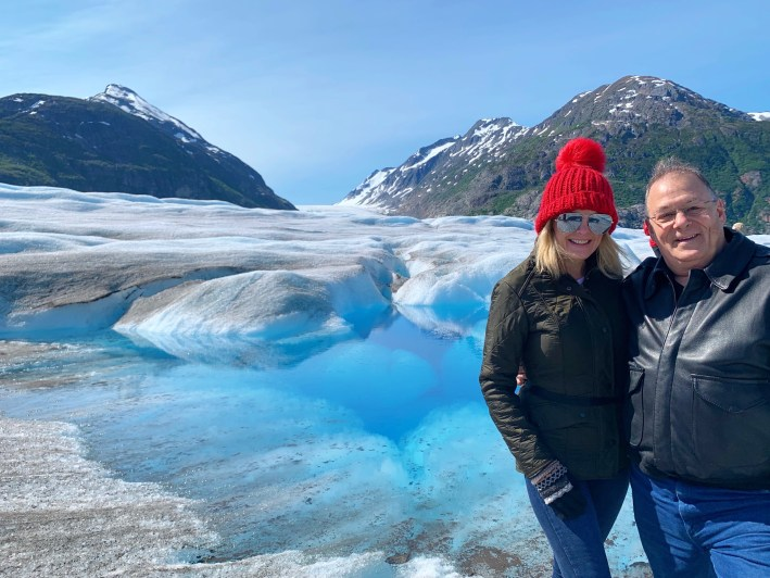 Top 10 Reasons to Book a Disney Cruise to Alaska featured by top US travel blogger, Tanya Foster: image of Muir Glacier in Alaska