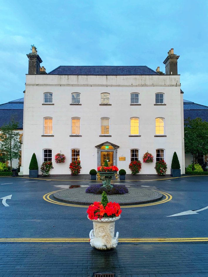 The Johnstown Estate, Ireland | 8 Reasons to travel to Ireland now! by popular Dallas travel blogger, Tanya Foster: image of the Johnstown Estate in Ireland.