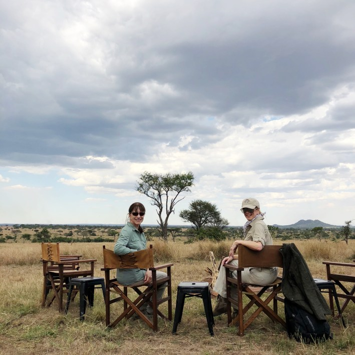Animals and landscape while on photo safari on the Grumeti Reserve and Serengeti National Park