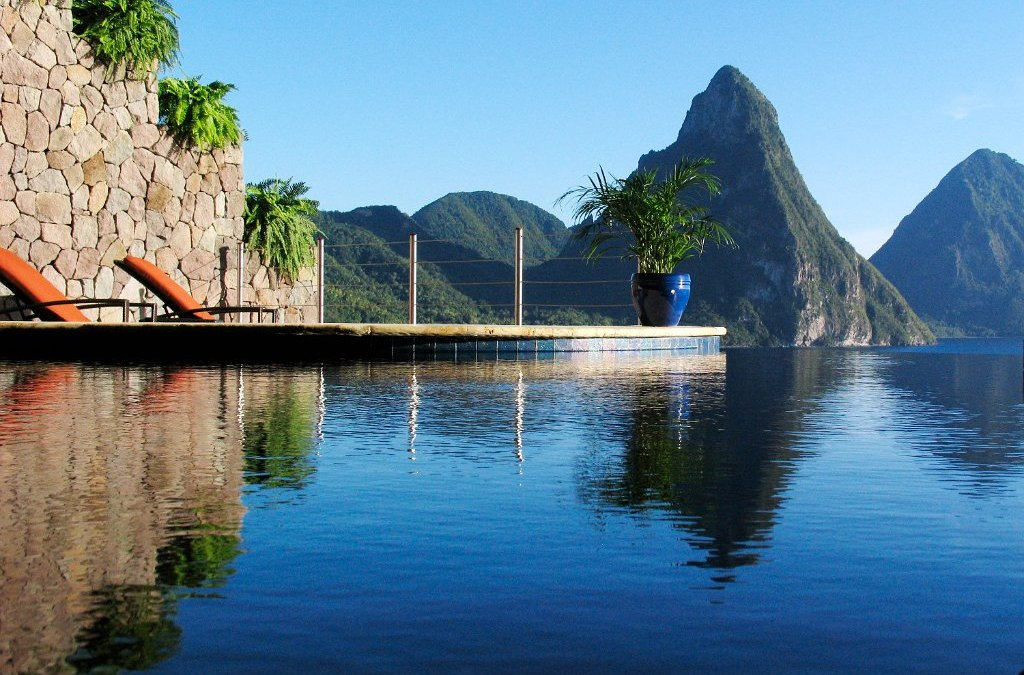 destination: Jade Mountain, St. Lucia
