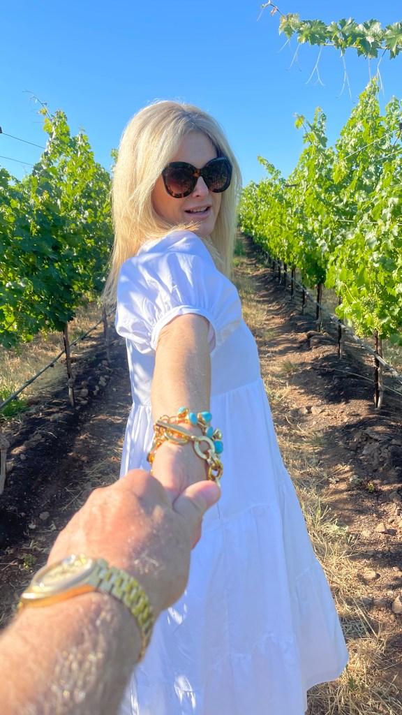 Tanya Foster at Jordan Winery 2021