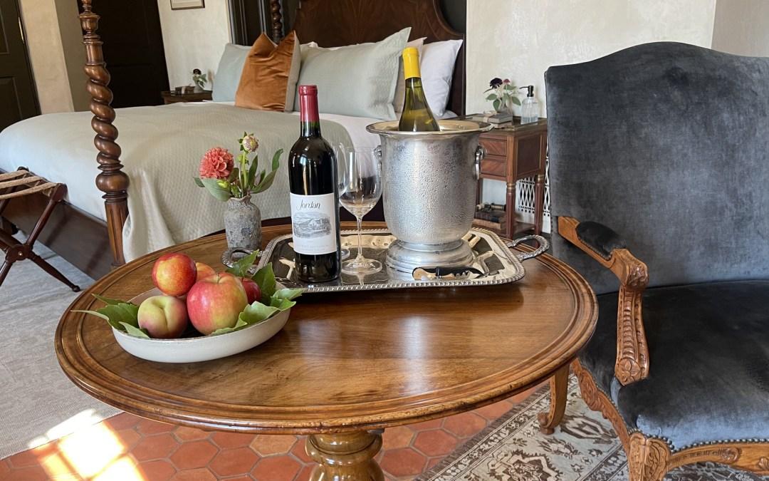 California Dreamin': Jordan Winery and Surrounding Area