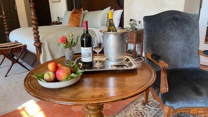 Jordan Winery Chateau suite