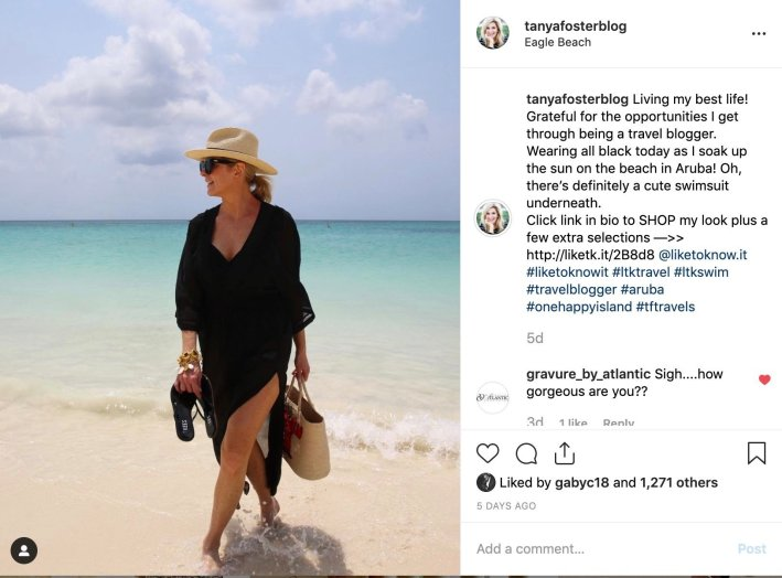 Shop your Instagram - tanyafosterblog