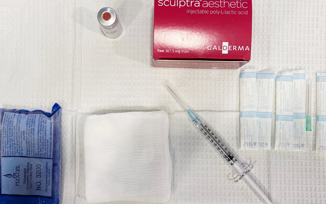 Restore Facial Volume with Sculptra Aesthetic