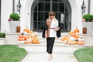 More is More | How to Style a Black Maxi Dress for Fall