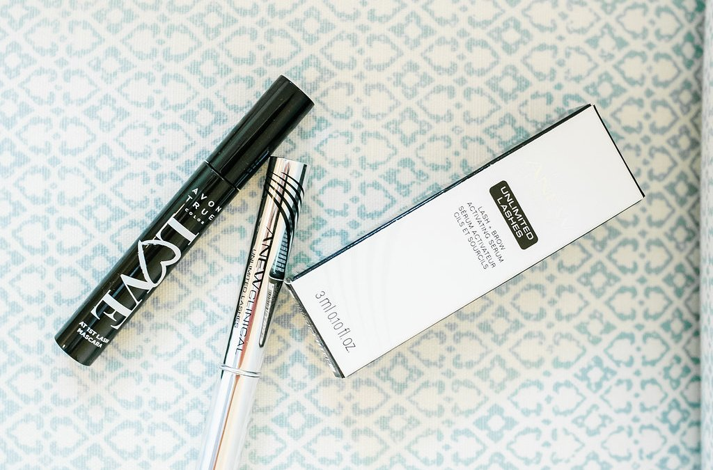 Longer Looking Lashes with AVON